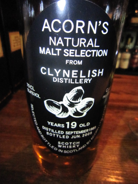 クライネリッシュ Clynelish 19y 55.4% 1989-2009 70CL  Acorn   #6076