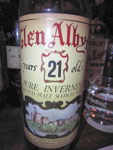 グレンアルビン  Glen Albyn 21y 1963(40%, G&M for Sestante) 75CL  イタリア向け