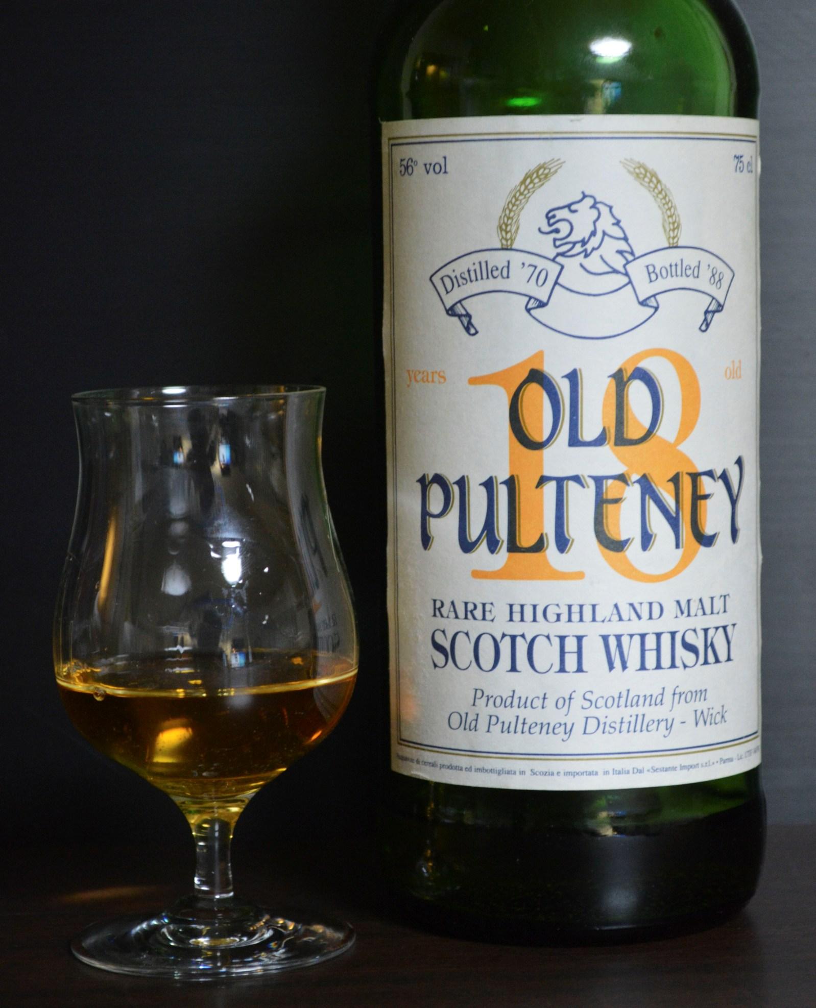 オールドプルトニー  Old Pulteney 18yo 1970/1988 (56%, G&M for Sestante, 75cl) High Proof