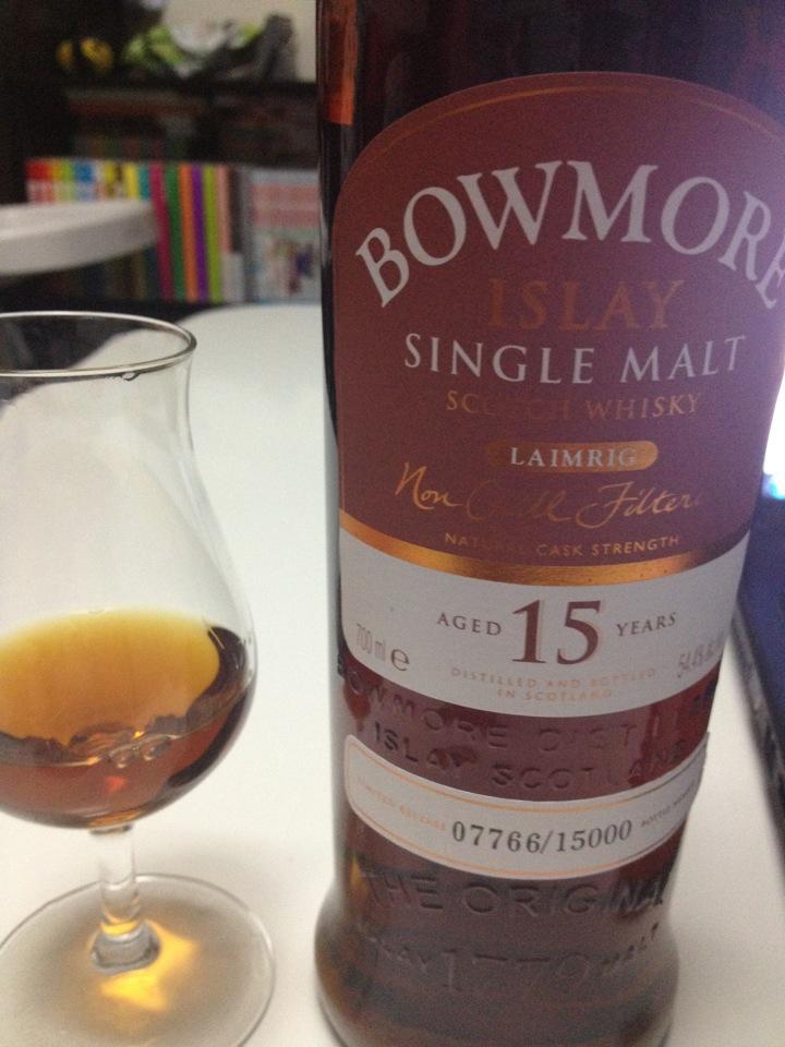 Bowmore 15年 LAIMRIG