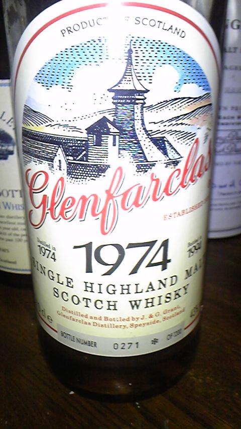 グレンファークラス Glenfarclas 1974/1994 (43%, OB, 1200 bottles)