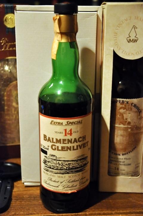 バルメナック-グレンリベット Balmenach-Glenlivet 14yo (57.5%, OB for Sestante, early 1970's) c1972