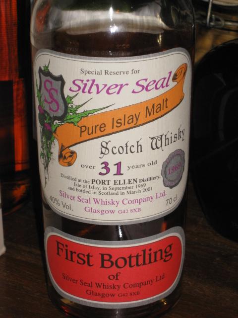 ポートエレン Port Ellen 31y 1969-2001 (40%, Silver Seal, First Bottling, 156 Bts.)
