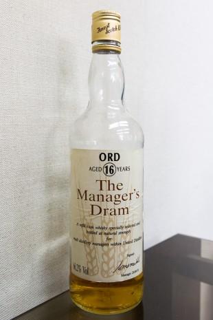 Glen Ord 16 yo 'Manager's Dram' (66.2%, OB, 1991)