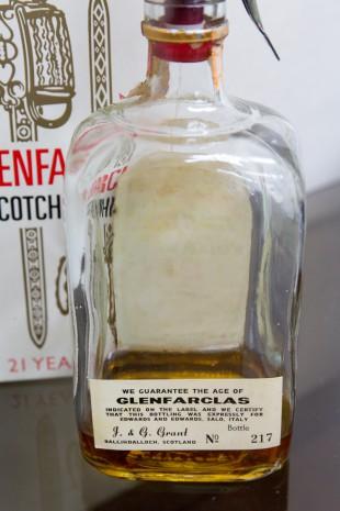 Glenfarclas 21 yo (51.5%, OB, Pinerolo, for Edward Giaccone, 1974)