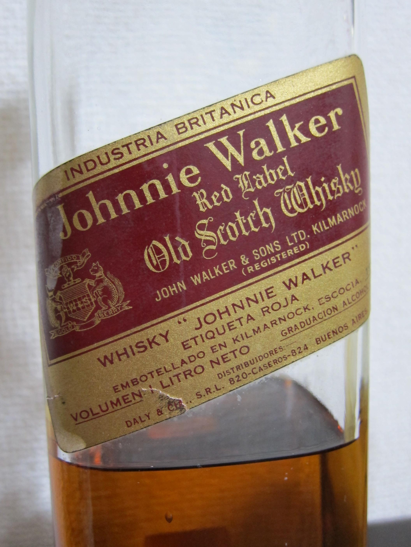 ジョニーウォーカー・レッドラベル(ジョニ赤) 43% 1950年代流通品