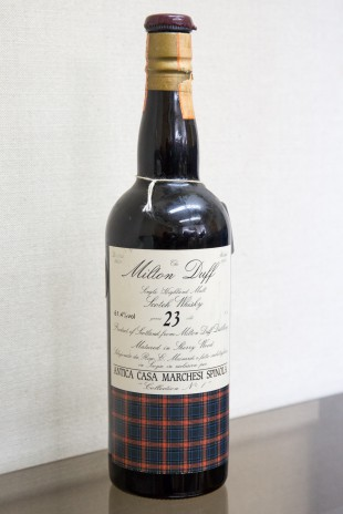 Miltonduff 23 yo 1966/1990 (61.4%, Sestante, Antica Casa Marchesi Spinola, Selection no.1, 75cl)