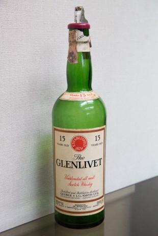 Glenlivet 15 yo 1954 (45.7%, OB, Unblended all malt, for Italy)